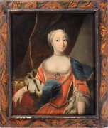 Portrait of Princess, Spanish or Italian, Gravert Collection, 18th C.Stair, March 2012