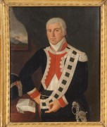 Portrait of a Naval Officer, Italian, 18th C. Gravert Collection, Stair, March 2012