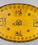 Yellow Tole Tray.1